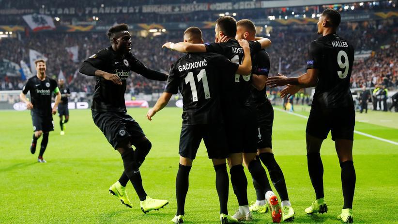 Europa League: Eintracht Frankfurt bleibt erfolgreich