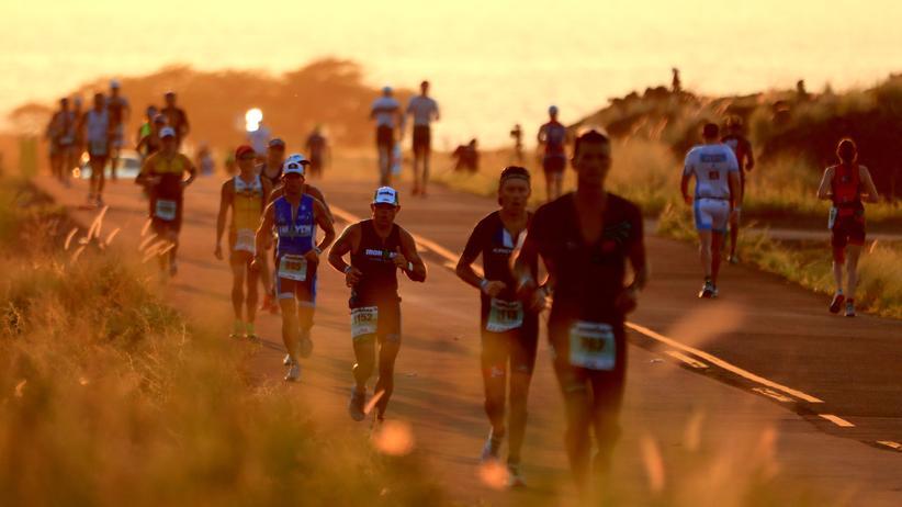 Ironman Hawaii: Teilnehmende des Ironman 2018 auf Hawaii