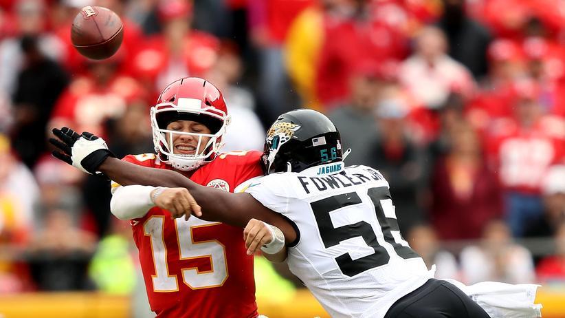 NFL: Wattebäuschchen für den Quarterback