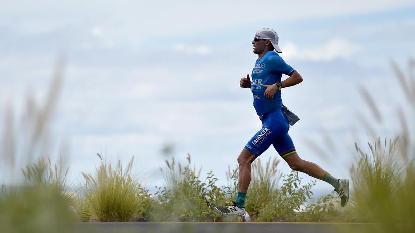 Hawaii: Patrick Lange beim Marathon