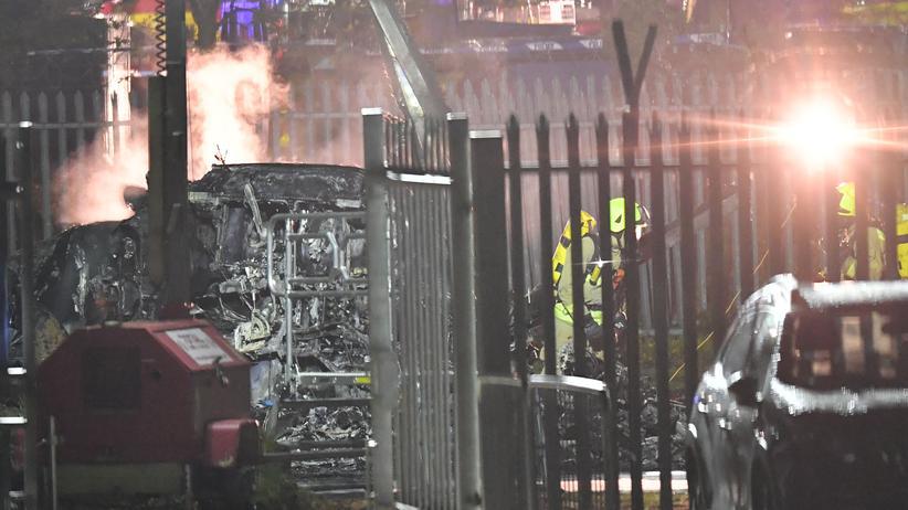 Leicester City: Hubschrauber von Leicester-Besitzer neben Stadion abgestürzt