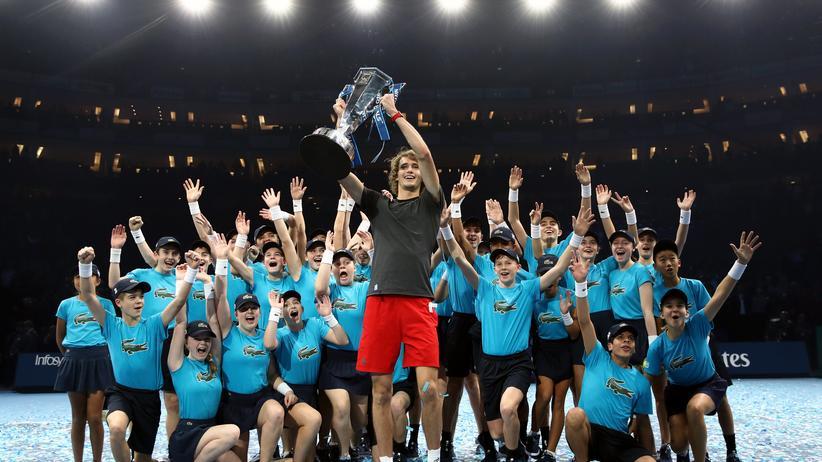 Alexander Zverev: Triumph von der Grundlinie