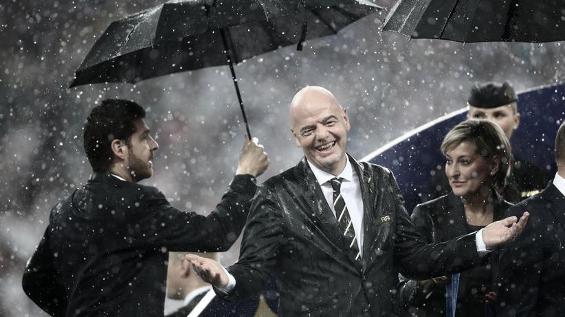 Fifa: Gianni Infantino verkauft auch seine Kinder