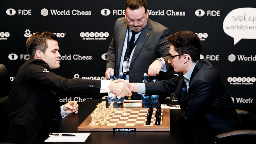 Schach-WM 2018: Das siebte Remis