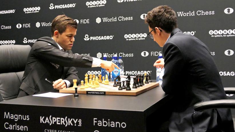Schach-WM 2018: Weltrekord: neun Remisen!