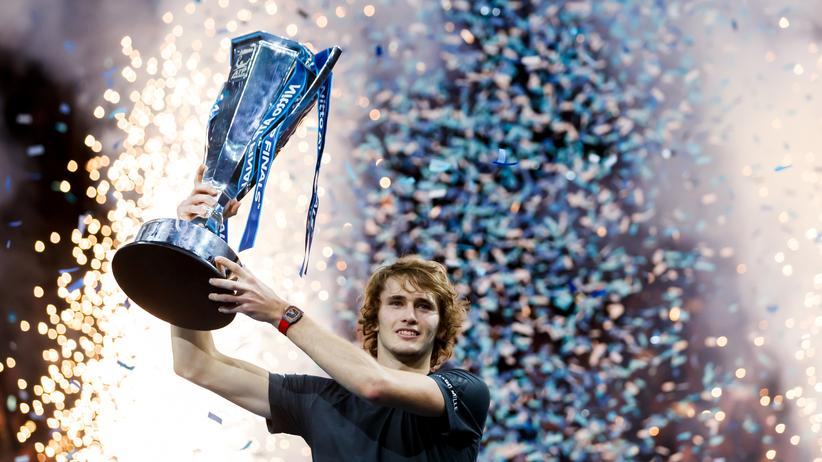 Tennis : Alexander Zverev gewinnt ATP-WM in London