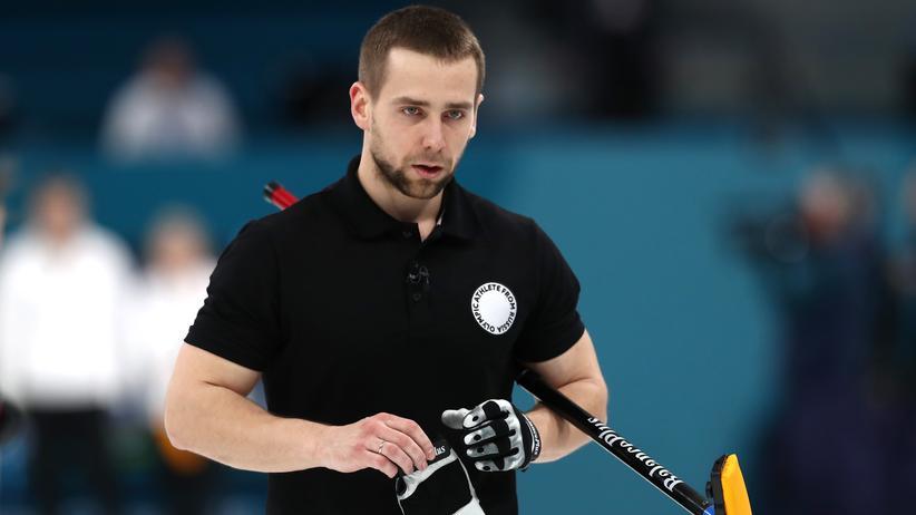 Alexander Kruschelnizki: Für vier Jahre gesperrt: Der russische Curler Alexander Kruschelnizki (Archivbild).