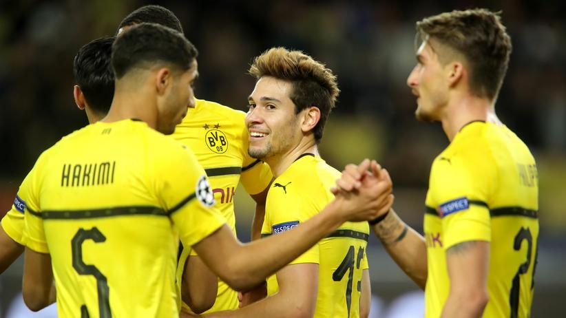 Champions League: Dortmund erreicht die nächste Runde als Gruppensieger