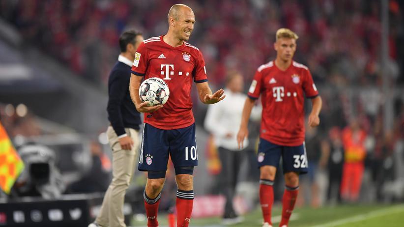 Bundesliga-Vorschau: Wäre auch ein guter Handball-Außen: Arjen Robben