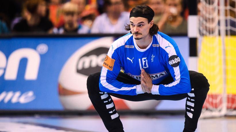 Handball-WM: Dänemarks Torhüter Jannick Green zeigte beim Spiel gegen Frankreich eine starke Leistung.