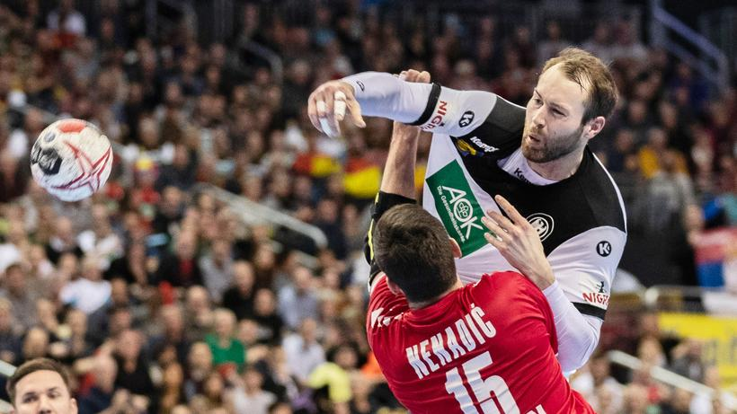 Handball Wm Deutschland Gewinnt Deutlich Gegen Serbien Zeit Online