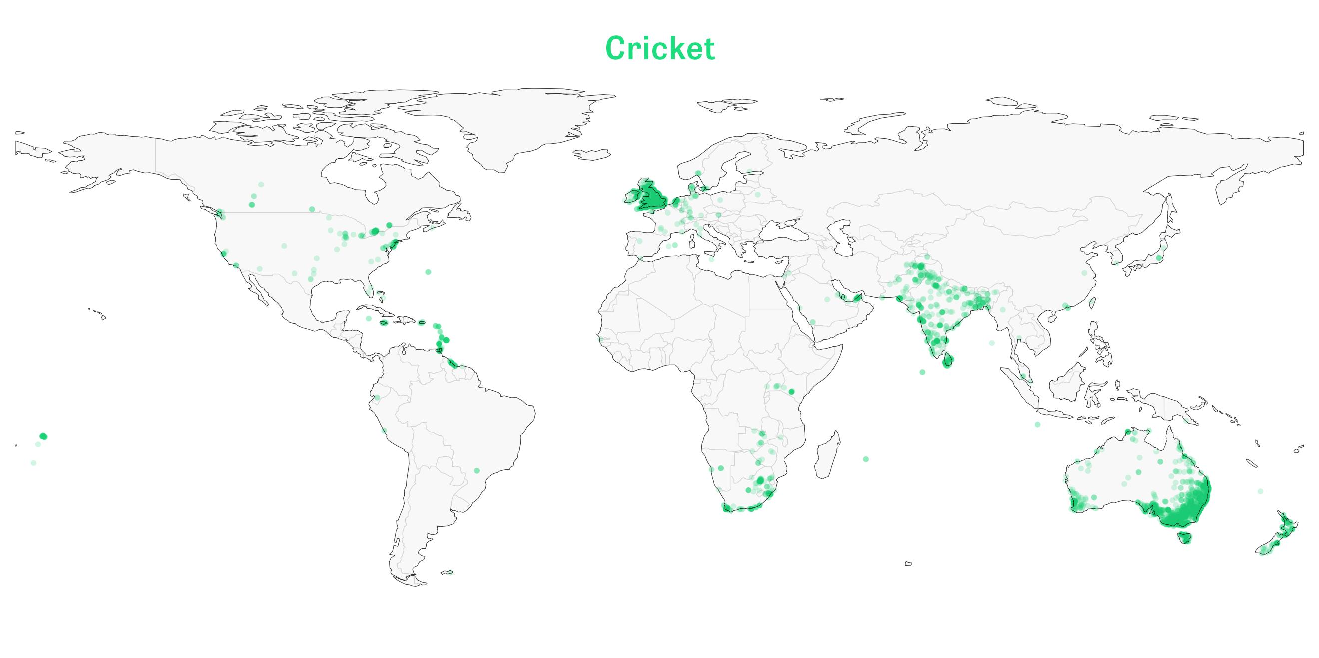 Sportarten: Handball ist eine europäische Angelegenheit, wie ein Blick auf unsere Weltkarte der Sportstätten zeigt. Wer auf dem Planeten welchen Sport treibt, wir zeigen es Ihnen.
