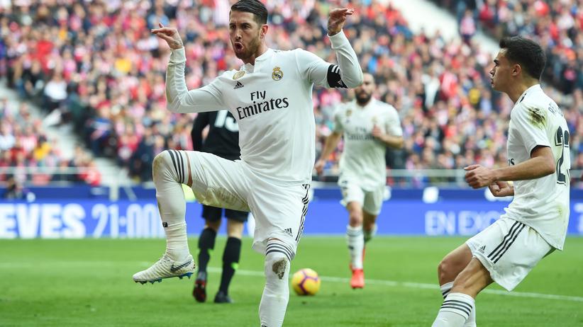 """Fußball und """"Fortnite"""": Sergio Ramos und die Konsole"""