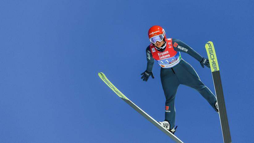 Nordische Ski-WM: Deutsche Skispringerinnen gewinnen Gold