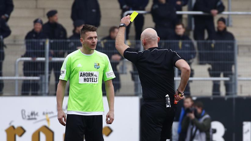 Chemnitzer FC: Fußballverband sperrt Chemnitzer Stürmer Daniel Frahn