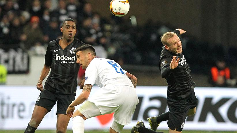 Europa League: Eintracht Frankfurt schafft nur ein Remis gegen Inter Mailand