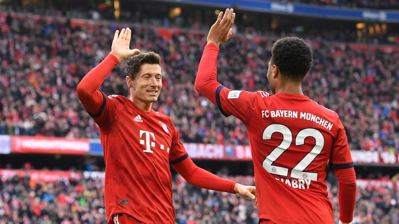 Bundesliga-Vorschau: Gibt es nur in der Bundesliga: Jubelnde Bayern