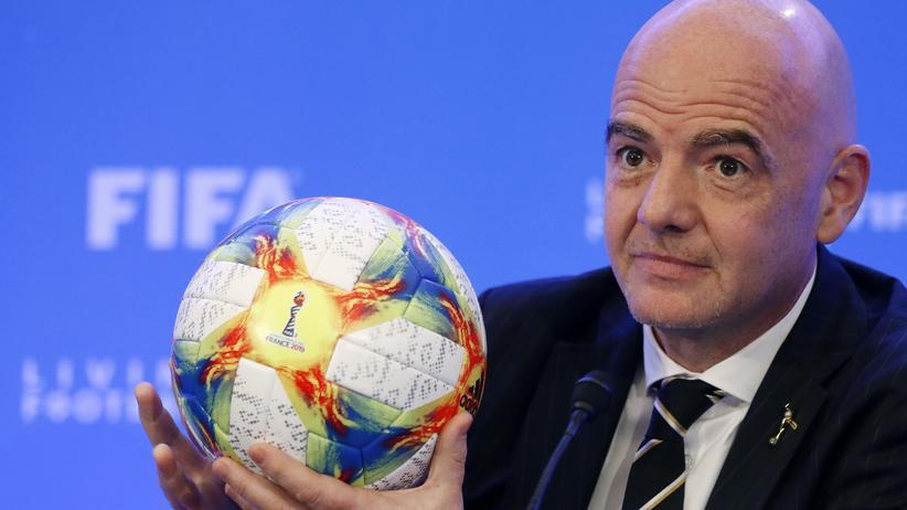 FIFA: Fifa-Präsident Gianni Infantino