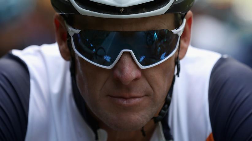 """Er fährt wieder: Lance Armstrong während des Mountainbikerennens """"La Ruta de Los Conquistadores"""" im November 2018 in Costa Rica."""