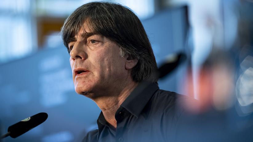 Nationalmannschaft: Löw bei der Pressekonferenz