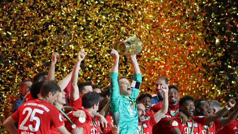 DFB-Pokal: FC Bayern holt sich das Double