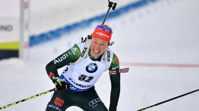 Biathlon: Olympiasiegerin Laura Dahlmeier beendet ihre Karriere