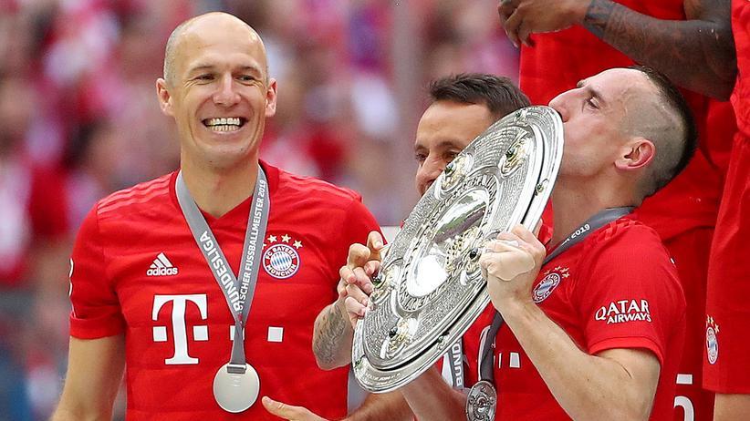 FC Bayern: Party im Altenheim