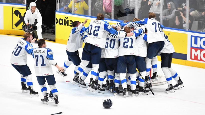 Eishockey-WM: Finnland ist zum dritten Mal Weltmeister