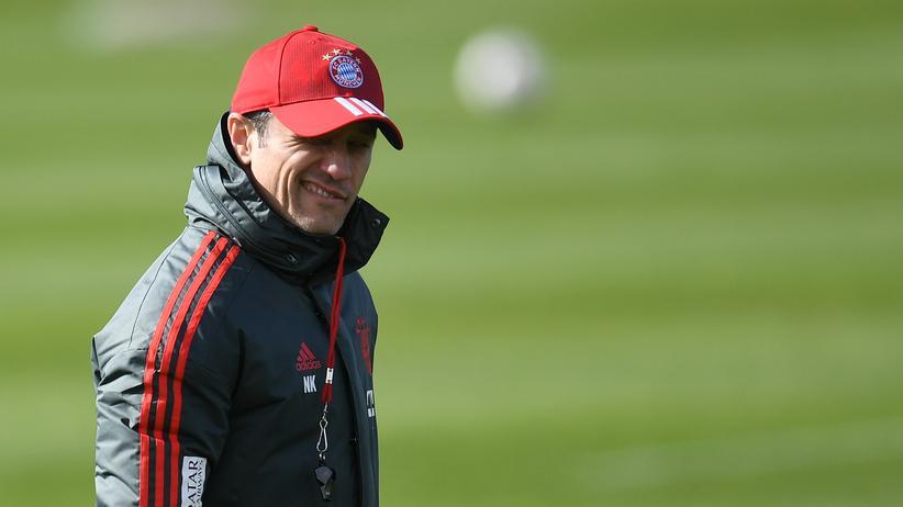 Fußball-Bundesliga: Niko Kovac, wenn er in der besseren Tabelle den FC Bayern auswählt.