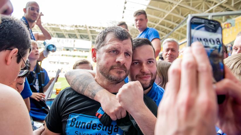 Steffen Baumgart: Paderborns Trainer ging von der Regionalliga bis in die Bundesliga.