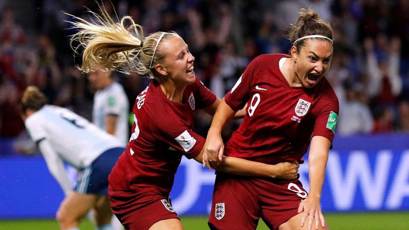 Frauenfußball-WM: England gewinnt gegen Argentinien