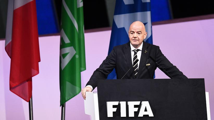 Fußball-Weltverband: Gianni Infantino als Fifa-Präsident wiedergewählt