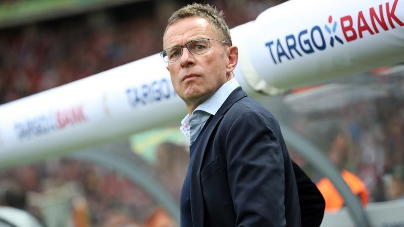 RB Leipzig: RB Leipzigs Trainer und Sportdirektor Ralf Rangnick