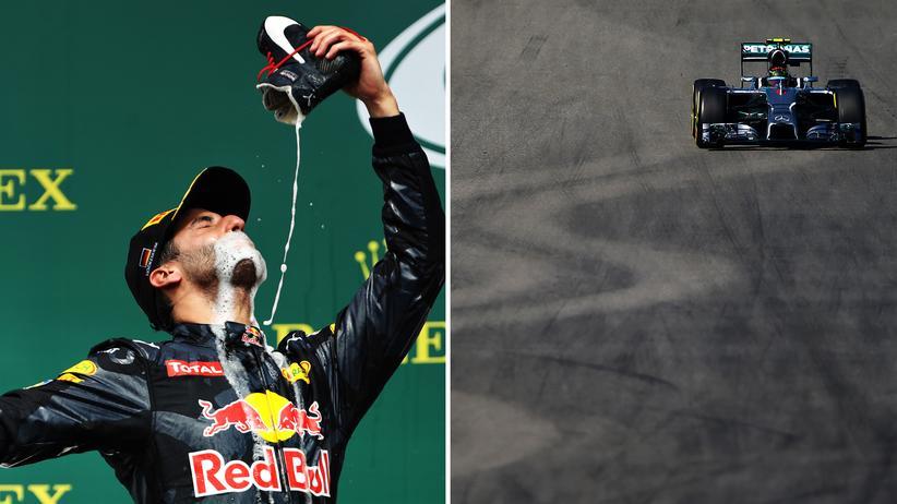 Formel 1: Was soll der Quatsch: Formel-1-Fahrer und -Auto