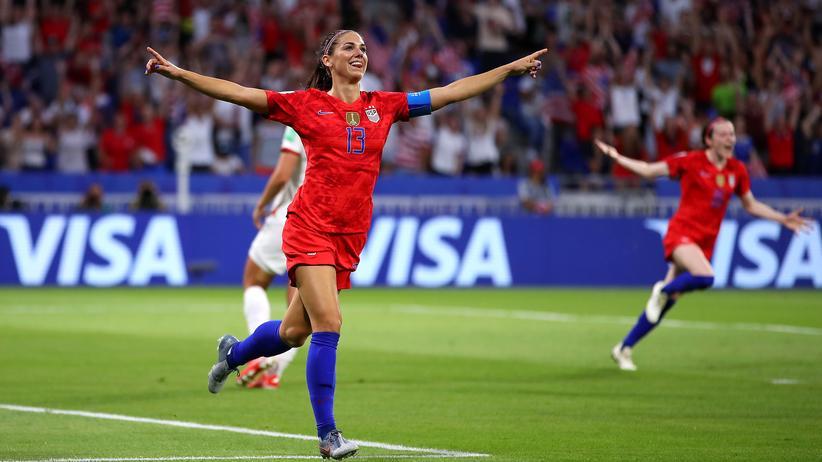 Frauenfußball-WM: USA erreichen als erstes Team das Finale