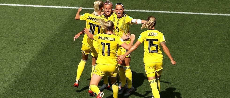 Frauenfußball-WM: Schwedinnen beenden Fußball-WM auf Platz drei
