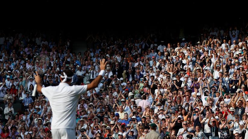 Wimbledon-Halbfinale: Er wird immer besser