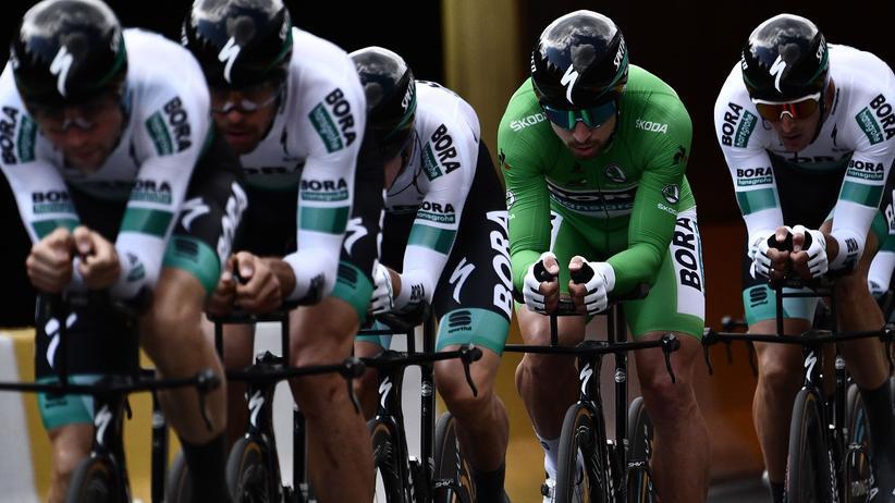 Tour de France: Bora, das Team von Willi Bruckbauer, unterwegs bei der diesjährigen Tour de France
