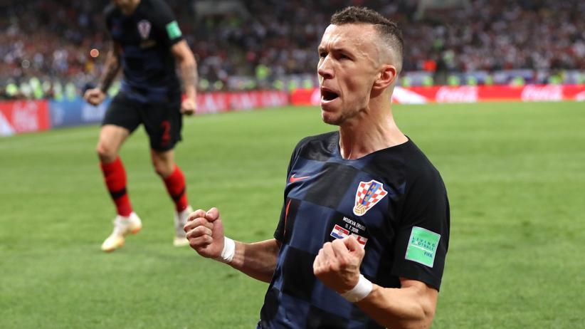 FC Bayern München: Ivan Perisic bei seinem Tor gegen England bei der Fußball-Weltmeisterschaft in Russland