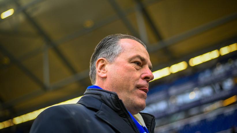 FC Schalke 04: Der Aufsichtsratschef Clemens Tönnies im Stadion auf Schalke in Gelsenkirchen.
