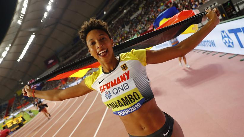 Leichtathletik-WM: Malaika Mihambo holt Gold im Weitsprung