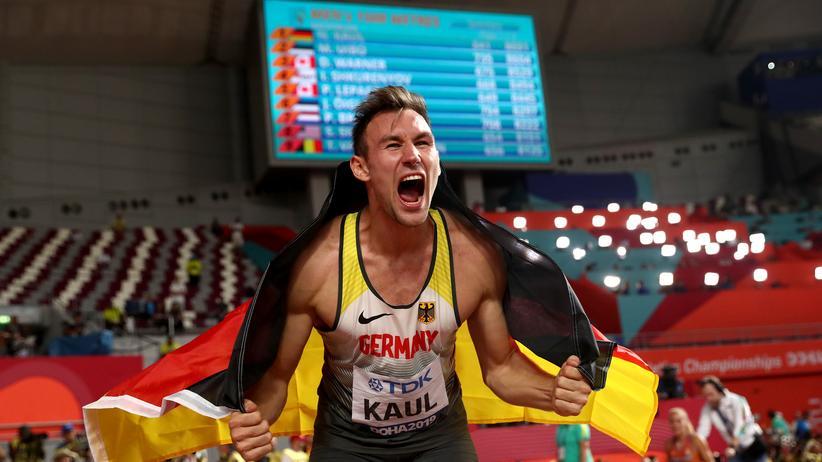 Niklas Kaul: Niklas Kaul nach dem finalen 1.500-Meter-Lauf