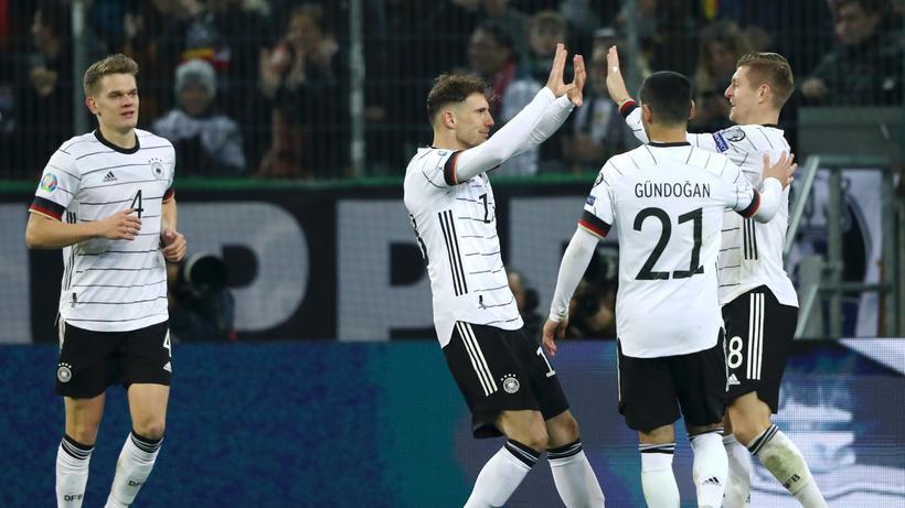 Em Qualifikation Deutschland Schlagt Belarus Mit 4 0 Zeit