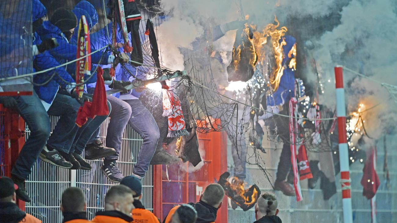Hertha BSC gegen Union Berlin: Drei Verletzte bei Berliner Stadtderby