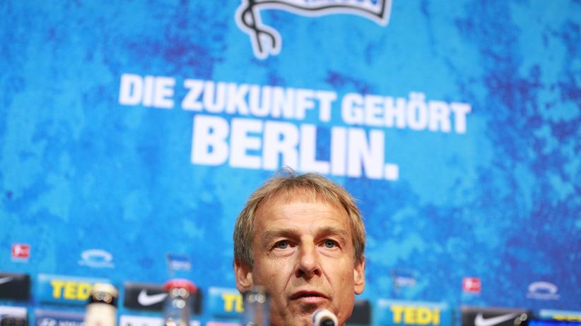 Jürgen Klinsmann Dieser Weg wird kein leichter sein: Jürgen Klinsmann ist neuer Trainer von Hertha BSC