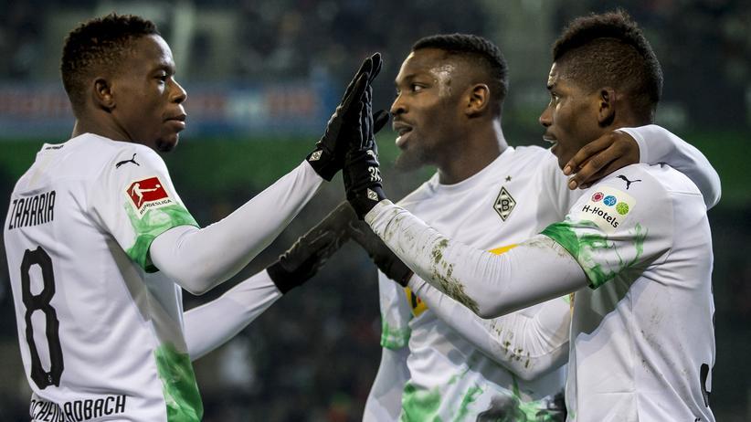 Borussia Mönchengladbach: Gladbacher Kanten: Denis Zakaria, Marcus Thuram und Breel Embolo