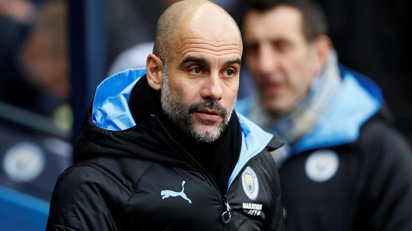 Financial Fairplay: Pep Guardiola, Trainer von Manchester City