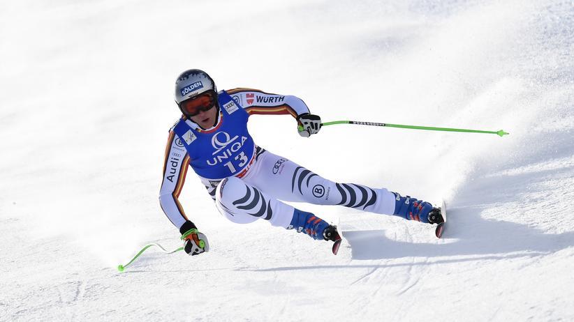 Ski Alpin: Thomas Dreßen in Saalbach, Österreich