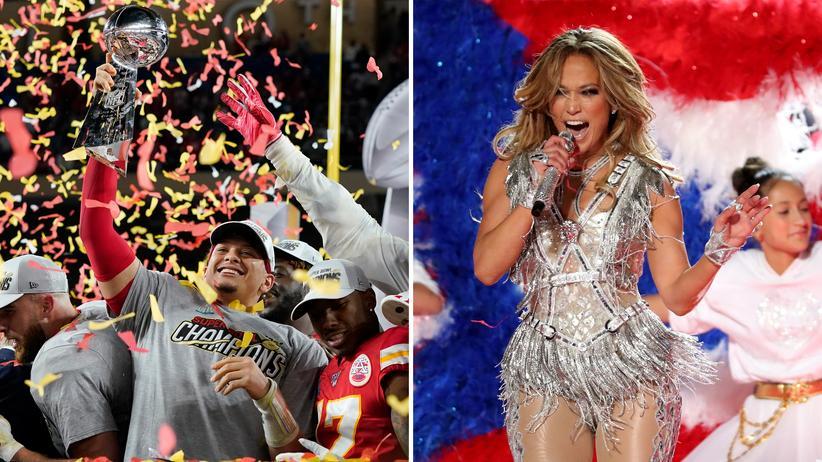 Super Bowl heißt noch immer: Amerika sieht fern. Und sah dort diesmal nicht nur den Sieg der Kansas City Chiefs, sondern auch Jennifer Lopez und Shakira.