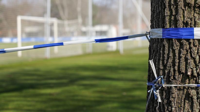 Alle zuhause: Das Trainingsgelände von Hertha BSC